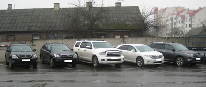 автомобилей из США