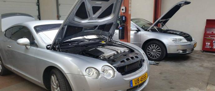 Люксембург: владелец Bentley Continental GT ставит на машину 3-литровый TDI от Volkswagen