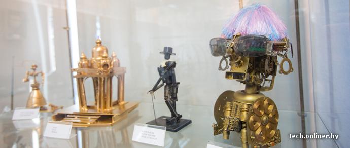 Роботы, оружие и фантазия: в Минске открылась выставка RoboArt