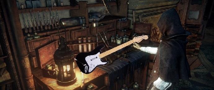 Геймер прошел Bloodborne на гитаре