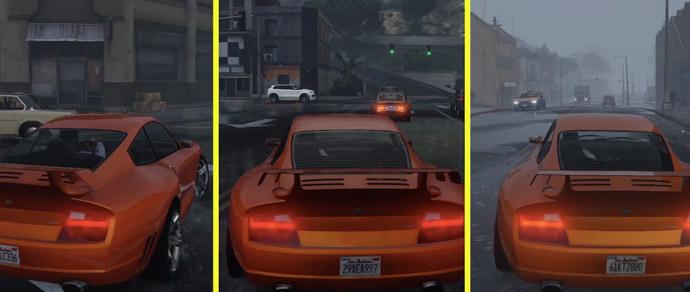 Журналисты сравнили графику GTA V на PC, PS 4 и Xbox One