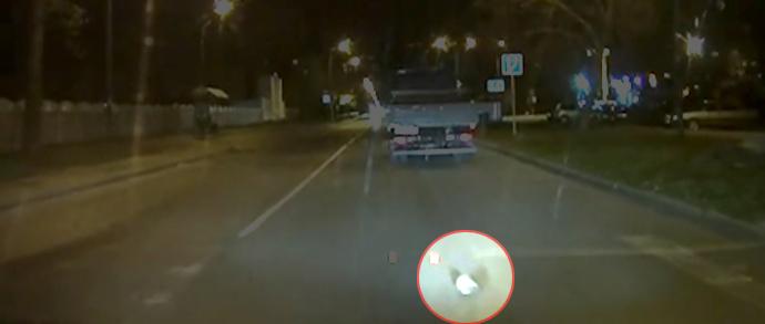 Пешеход с иголками: ежик перебежал дорогу по переходу