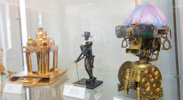 Роботы, оружие и фантазия: в Минске начала работу выставка RoboArt