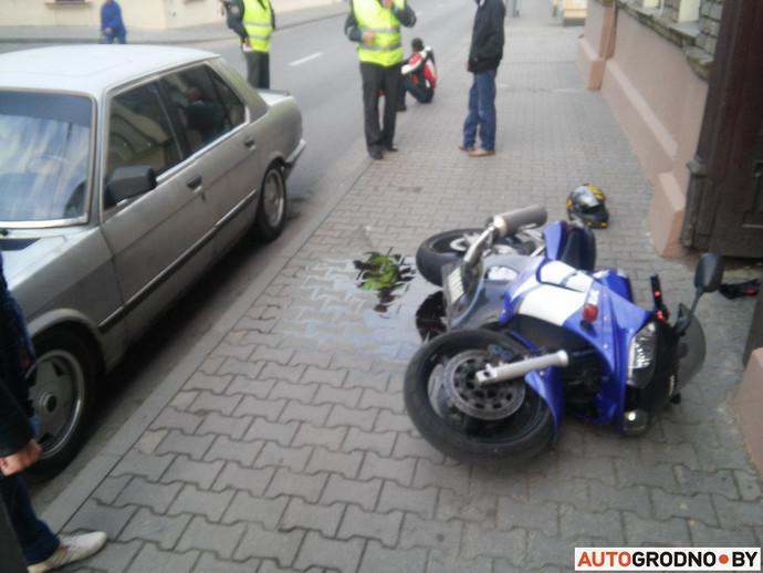 аварии на мотоцикле в одинцова за 15 мая