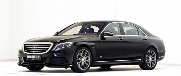 В Brabus сделали гибрид Mercedes S-Class мощнее