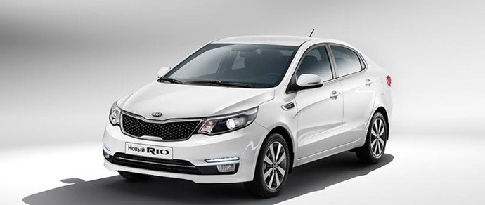 В Беларуси начались продажи обновленного Kia Rio