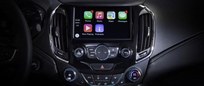 Новый Chevrolet Cruze получит полную поддержку Apple CarPlay и Android Auto