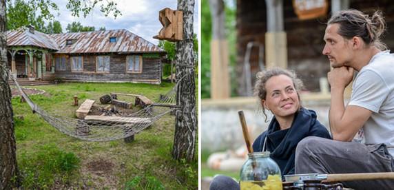 Побег от реальности: минчане купили заброшенную школу в деревне и превращают ее в «Шанти Дом» для йоги и медитации