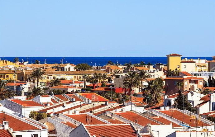Город торревьеха в испании