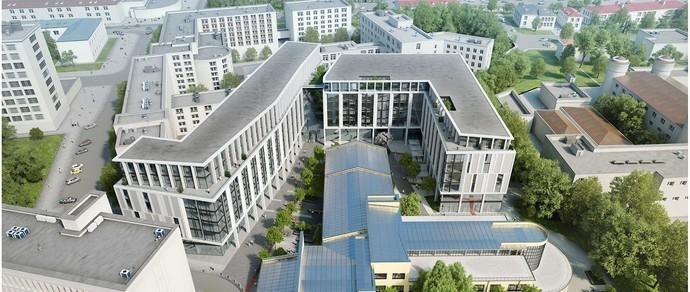 Комиссия одобрила проект строительства крупного комплекса за Красным костелом, замечаний от минчан не поступило