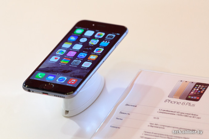 4226fb091beb В Беларуси стартовали официальные продажи iPhone 6