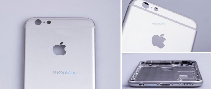 Опубликованы первые фото корпуса iPhone 6s