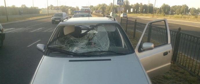 В Бресте водитель Skoda Octavia на пешеходном переходе сбил 16-летнюю школьницу