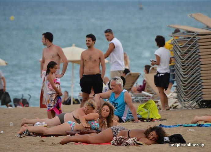 Секс дома пошли на пляж #1