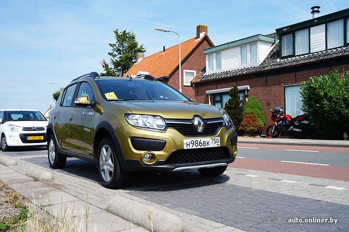 Renault Sandero Stepway: Автомат недорого - Тест-драйвы - TCH.ua | 459x690