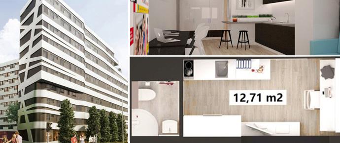 В Польше строят дом с микроквартирами: от 13 «квадратов», дизайнерский ремонт, стоимость — $30—80 тысяч