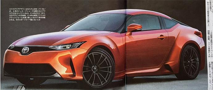 Toyota готовит к выпуску новое купе