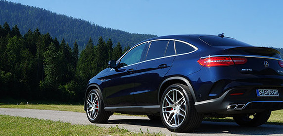 Тест-драйв Mercedes-AMG GLE63 S Coupe: вы можете свободно перемещаться по салону