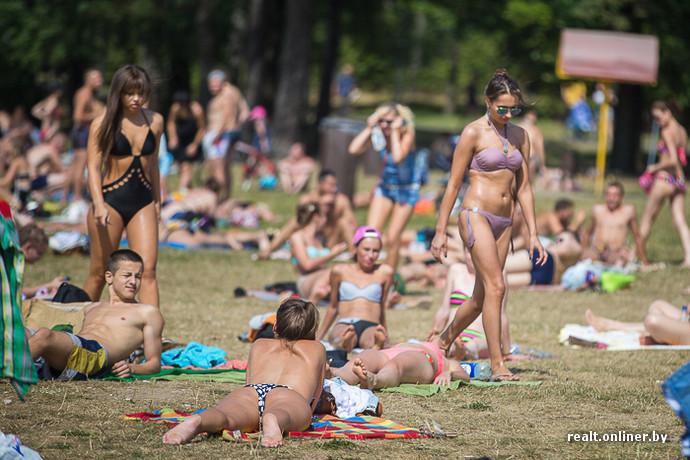 русская девочка с большими титьками на нудистском пляже