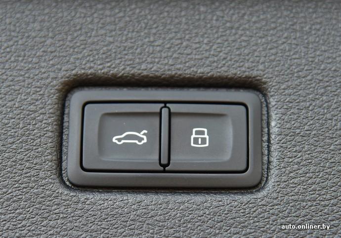 Кнопка открытия багажника от какого-то седана