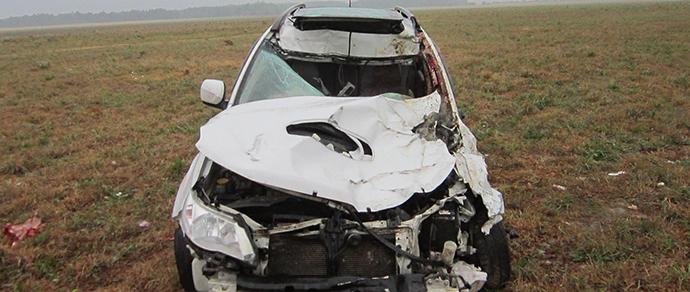 В ДТП под Рязанью один человек погиб, трое – пострадали