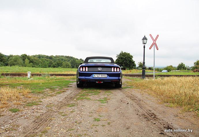 Нарисовать более красивую корму новому Mustang было, пожалуй, невозможно. Если видите сзади логотип бегущего «мустанга», значит под капотом 2,3-литровый мотор. Если же вместо него - символы GT, значит, у машины 5-литровое «сердце»