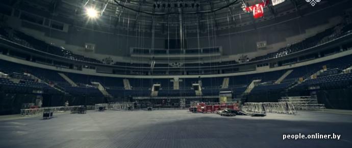 Видеорепортаж: как готовятся к приезду Linkin Park