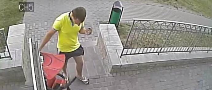 Коварный план. Мужчина потратил полдня, чтобы украсть детский велосипед за 1,5 миллиона