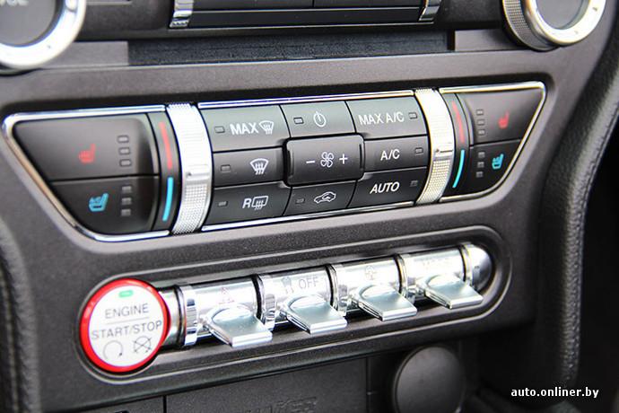 """У машины есть несколько режимов езды: Обычный, Спот+, Трек и Скользкое покрытие. Они отвечают за отклик педали газа, работы ESP, АКП (если она установлена) и электроусилителя руля. При этом """"баранку"""" можно настроить отдельным тумблером"""