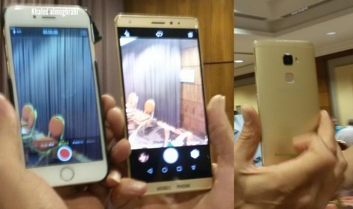 Новый смартфон Nexus разработки Huawei запечатлён на фото