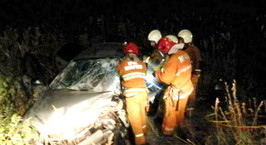 Могилевская область: молодой водитель погиб при столкновении автомобилей