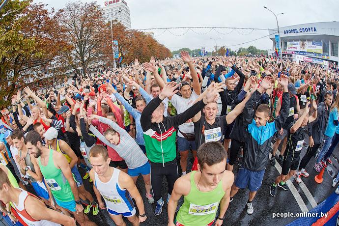semi-marathon à minsk 2015, photo people.onliner.by