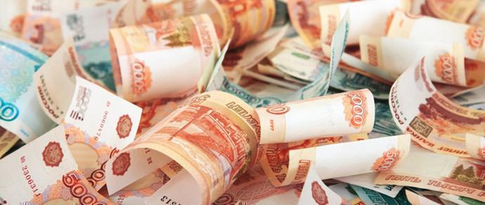 Укрепление российского рубля приводит к удешевлению доллара и евро