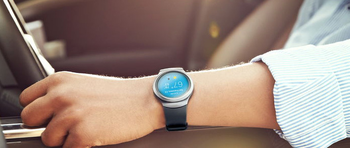 Samsung представила круглые умные часы Gear S2 на Tizen OS