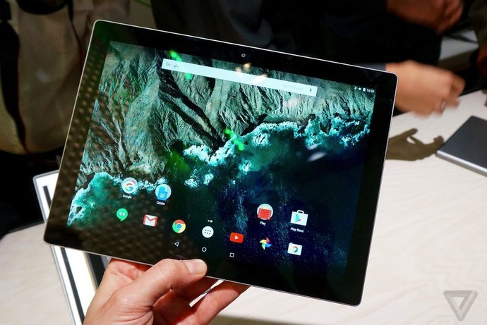 Google анонсировала планшет Pixel C