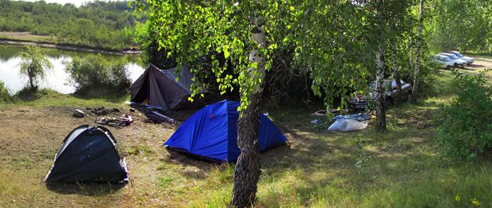 Барановичский район: водитель, наехавший на спящую в палатке девушку, остановился только через 27 метров