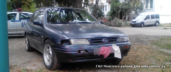 В Минском районе мужчина «обмыл» покупку машины и тут же попал на ней в ДТП