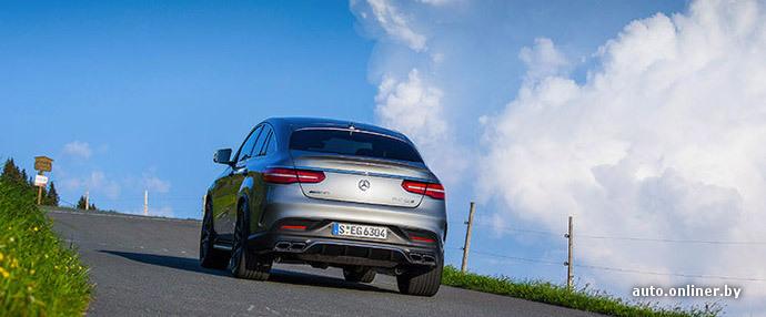 Onliner.by ищет троих добровольцев для испытания «автопилота» Mercedes GLE Coupe!
