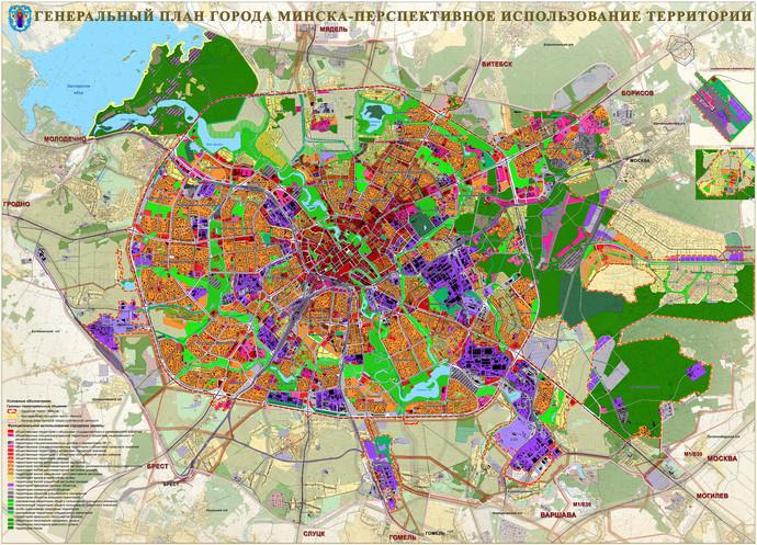 застройка пригорода Минска
