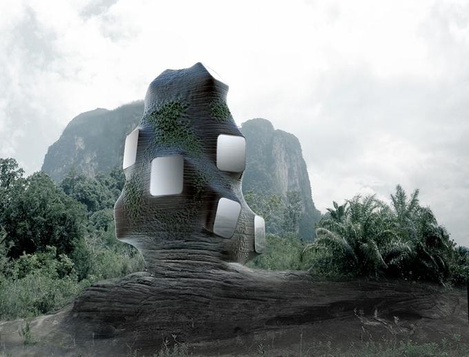 Отель-гнездо: в Таиланде предложили построить гостиницу для птиц и людей 666956af4f96c2906dec69760fbdd6b3