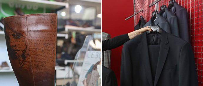 """Чудо-сапог и льняные джинсы: председатель «Беллегпрома» посетил профильную выставку. «Сам ношу обувь """"Марко"""", а костюм — от """"Коминтерна""""»"""