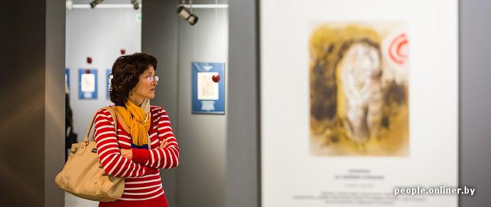 Фотофакт: в Минск привезли работы Шагала, Дали и Матисса