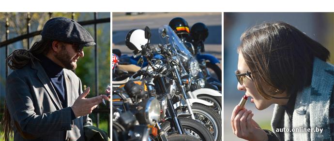 Мотопробег с дресс-кодом: Минск впервые присоединился к Distinguished Gentleman's Ride