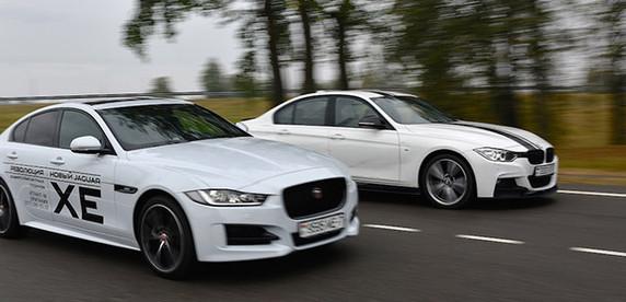 Тест-драйв: выясняем отношения между Jaguar XE и BMW 3-Series