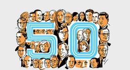 Тим Кук и Илон Маск попали в топ-50 самых влиятельных людей на планете