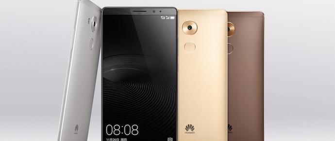 Huawei показала фаблет Mate 8 с батарей на 4000 мАч