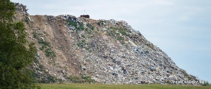 Под Минском появятся два новых мусорных полигона