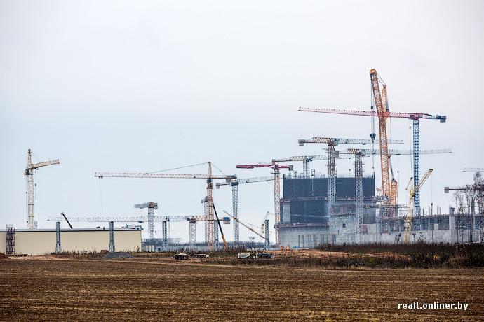 Фотофакт: как выглядит Белорусская АЭС сегодня