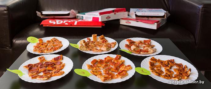 Дегустация Onliner.by. Покупаем и сравниваем пиццу в Papa John's, Sbarro и Domino's
