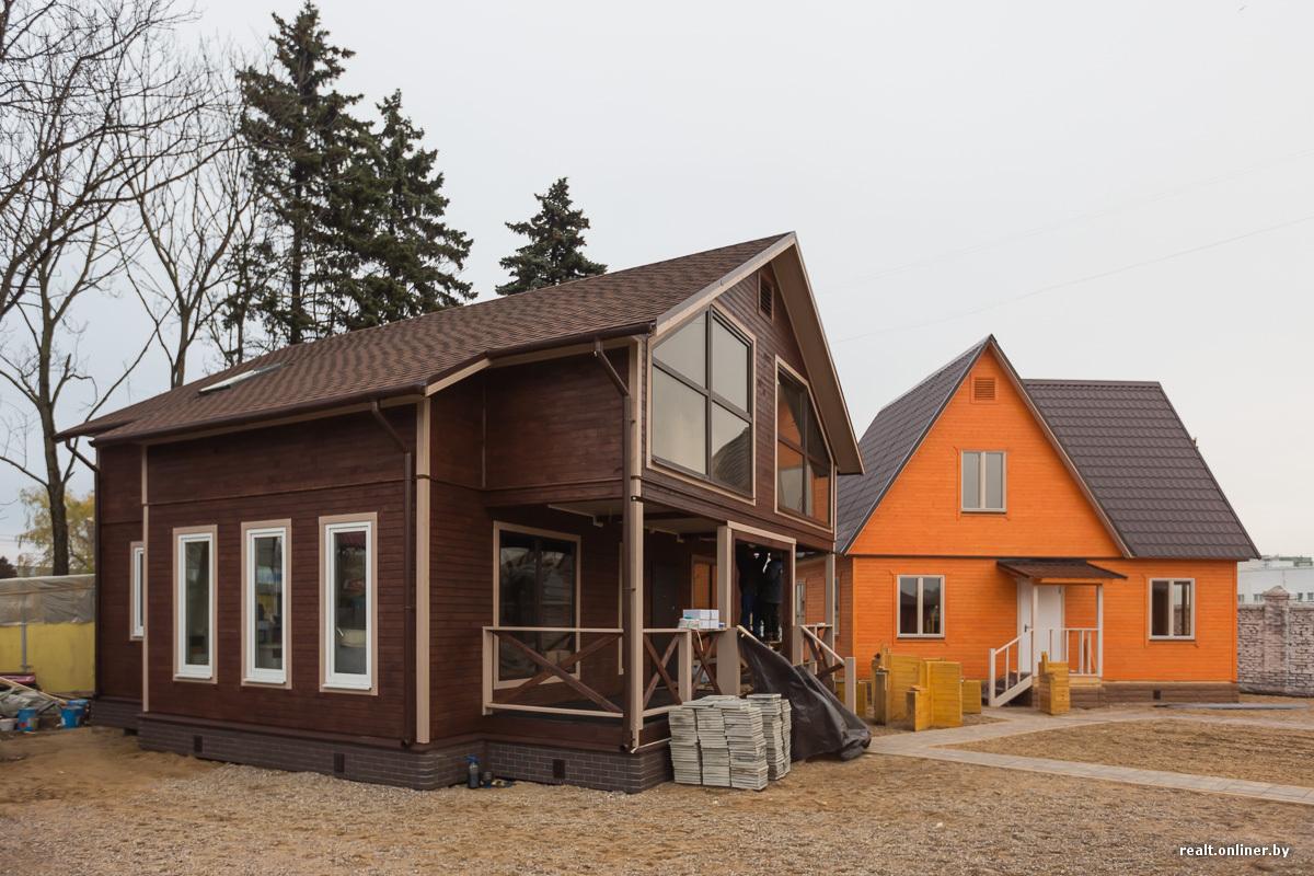 Каркасные постройки с большими окнами фото